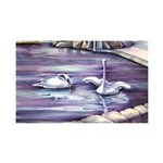 Swans Wall Decal