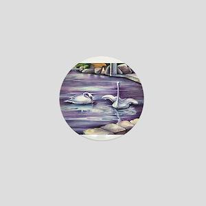 Swans Mini Button