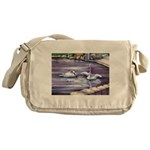 Swans Messenger Bag