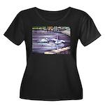 Swans Plus Size T-Shirt