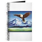 Eagle Above Mt Shasta Journal