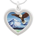 Eagle Above Mt Shasta Necklaces