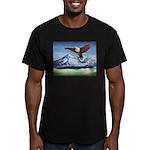 Eagle Above Mt Shasta T-Shirt