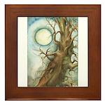 Juniper Moon Framed Tile