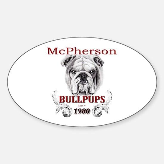 McPherson Bullpup Design 1980 Decal