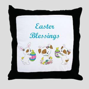EASTER BLESSINGS Throw Pillow