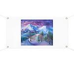 Mt Shasta Sunrise Banner
