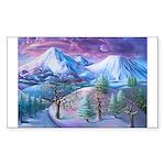 Mt Shasta Sunrise Sticker