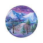 Mt Shasta Sunrise Button