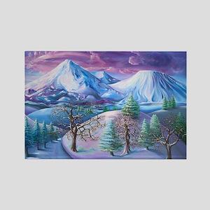 Mt Shasta Sunrise Magnets