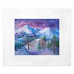 Mt Shasta Sunrise King Duvet
