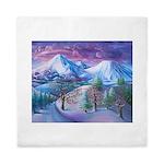 Mt Shasta Sunrise Queen Duvet