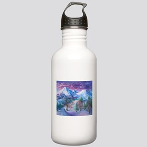 Mt Shasta Sunrise Water Bottle