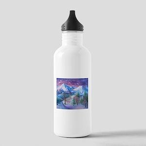 Mt Shasta Sunrise Water Bottle