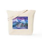 Mt Shasta Sunrise Tote Bag