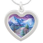 Mt Shasta Sunrise Necklaces