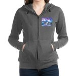 Mt Shasta Sunrise Women's Zip Hoodie