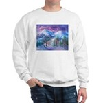 Mt Shasta Sunrise Sweatshirt
