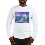 Mt Shasta Sunrise Long Sleeve T-Shirt