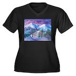 Mt Shasta Sunrise Plus Size T-Shirt