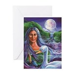 Indian Goddess Greeting Cards