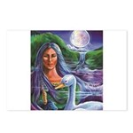Indian Goddess Postcards (Package of 8)