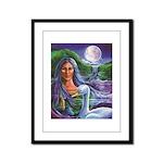 Indian Goddess Framed Panel Print