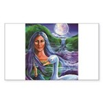 Indian Goddess Sticker