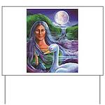 Indian Goddess Yard Sign