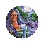 Indian Goddess Button