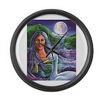 Indian Goddess Large Wall Clock