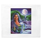 Indian Goddess King Duvet