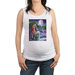 Indian Goddess Maternity Tank Top
