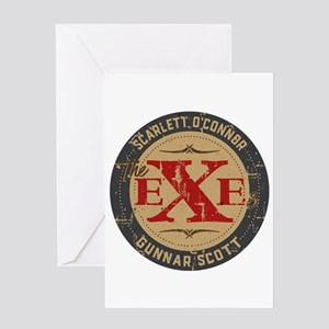 Nashville The Exes Greeting Cards