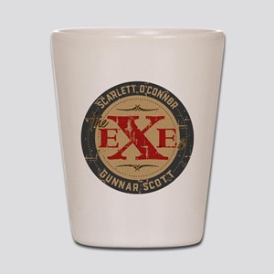 Nashville The Exes Shot Glass