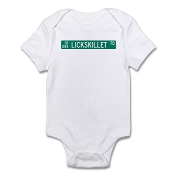 Lickskillet Road, Burnsville (NC) Infant Bodysuit