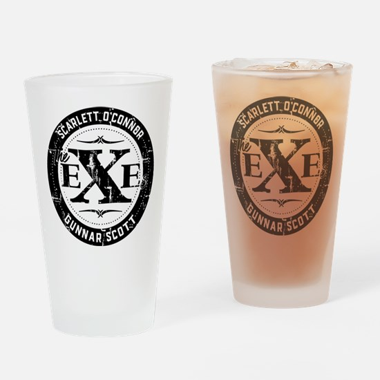 Nashville The Exes Drinking Glass