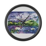 Mirror Large Wall Clock