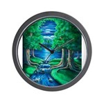 Middle Earth Wall Clock