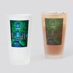Middle Earth Drinking Glass