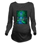 Middle Earth Long Sleeve Maternity T-Shirt