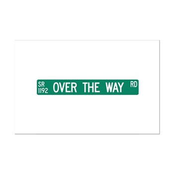 Over The Way Road, Saluda (NC) Mini Poster Print