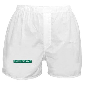 Over The Way Road, Saluda (NC) Boxer Shorts