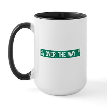 Over The Way Road, Saluda (NC) Large Mug