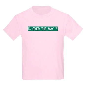 Over The Way Road, Saluda (NC) Kids Light T-Shirt