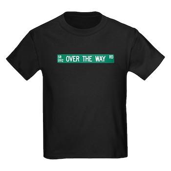 Over The Way Road, Saluda (NC) Kids Dark T-Shirt