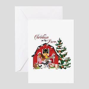 christmas on the farm greeting cards - Redneck Christmas