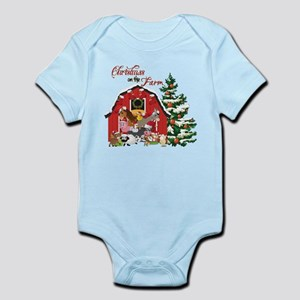 Christmas on the Farm Body Suit