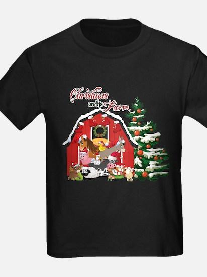 Christmas on the Farm T-Shirt