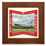 Florida Masons Framed Tile